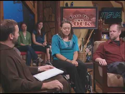 Life on the Rock - Paraplegic for Life - Fr. Mark and Doug with Chelsea Zimmerman  - 07-08-2010