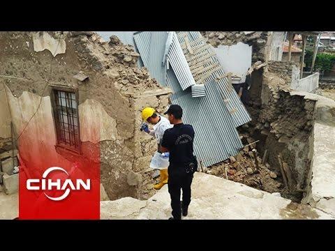 Çöken evin enkazında kalan 3 kişi hayatını kaybetti