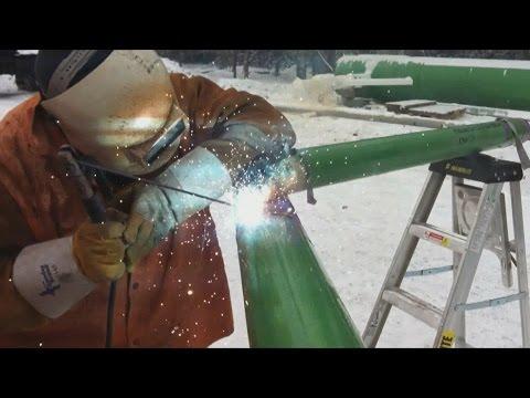4 Inch Spool Piece  -  Welding Fabrication