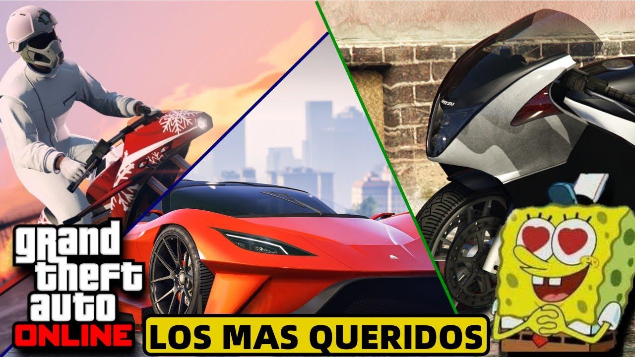 GTA ONLINE 2020|TOP: 7 VEHICULOS MAS POPULARES Y AMADOS DE TODO EL GTA ONLINE