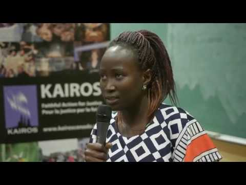 Women Building Peace in South Sudan: Agnes Wasuk Petia and Awak Deng (5:20)