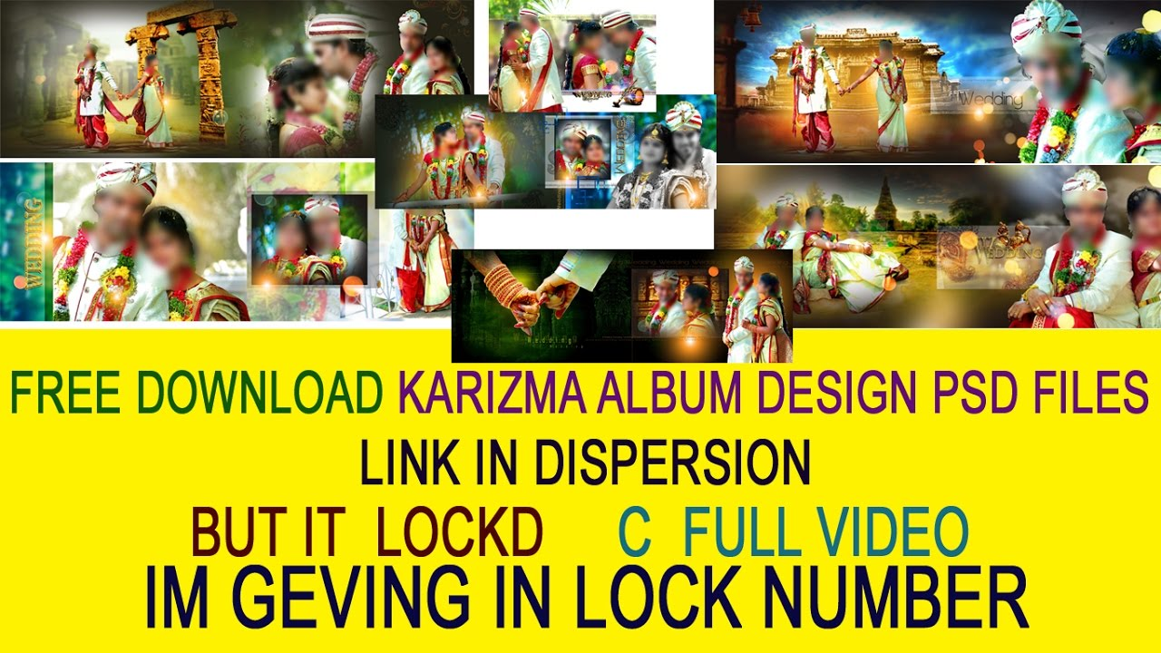 Wedding karizma album background psd files free download 12.