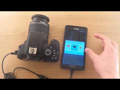 Canon Camera DSLR digital with android connection