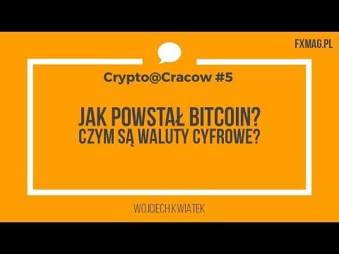 Jak powstał Bitcoin? (Wojciech Kwiatek na Crypto@Cracow) | Blockchain i kryptowaluty