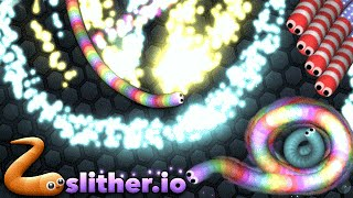Slither.io 37K+ Best Trick (Slither.io Similar Game to Agar.io Solo Gameplay)