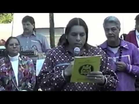 Joe Delacruz Honoring @  1993 WaHeLut Indian School # 4