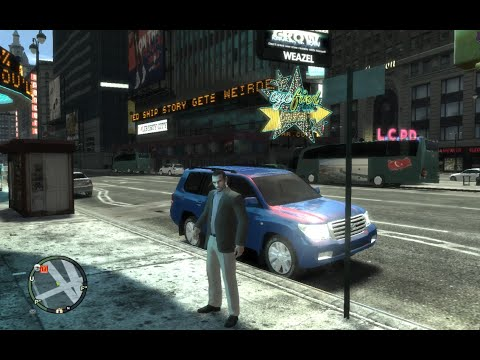 GTA 4 Ultra Mod обзор автомобилей, часть 1