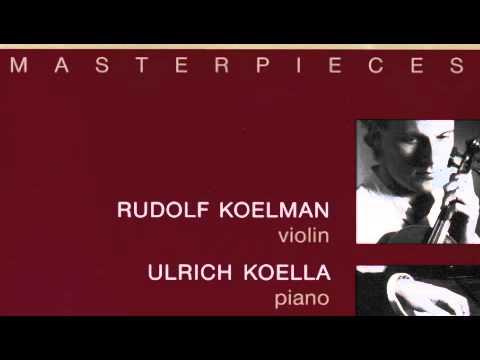 de Falla Kreisler Danse Espagnole - Rudolf Koelman , Ulrich Koella