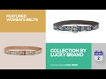 Collection By Lucky Brand Featured Women's Belts