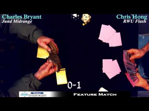Charles Bryant vs Chris Hong! Magic: the Gathering Feature Match at NW