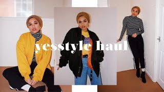 I SPENT £250 ON YESSTYLE | HUGE KOREAN FASHION HAUL!