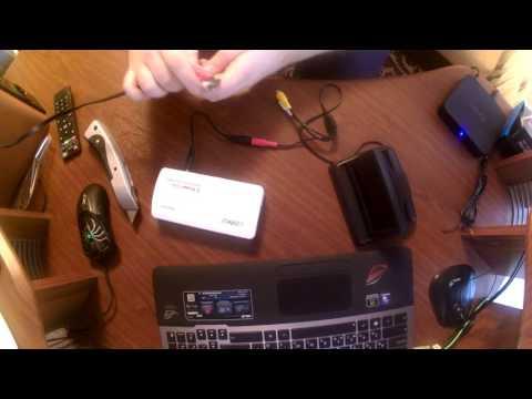 Автомобильный монитор (распаковка и проверка)