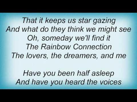 Jason Mraz - Rainbow Connection Lyrics