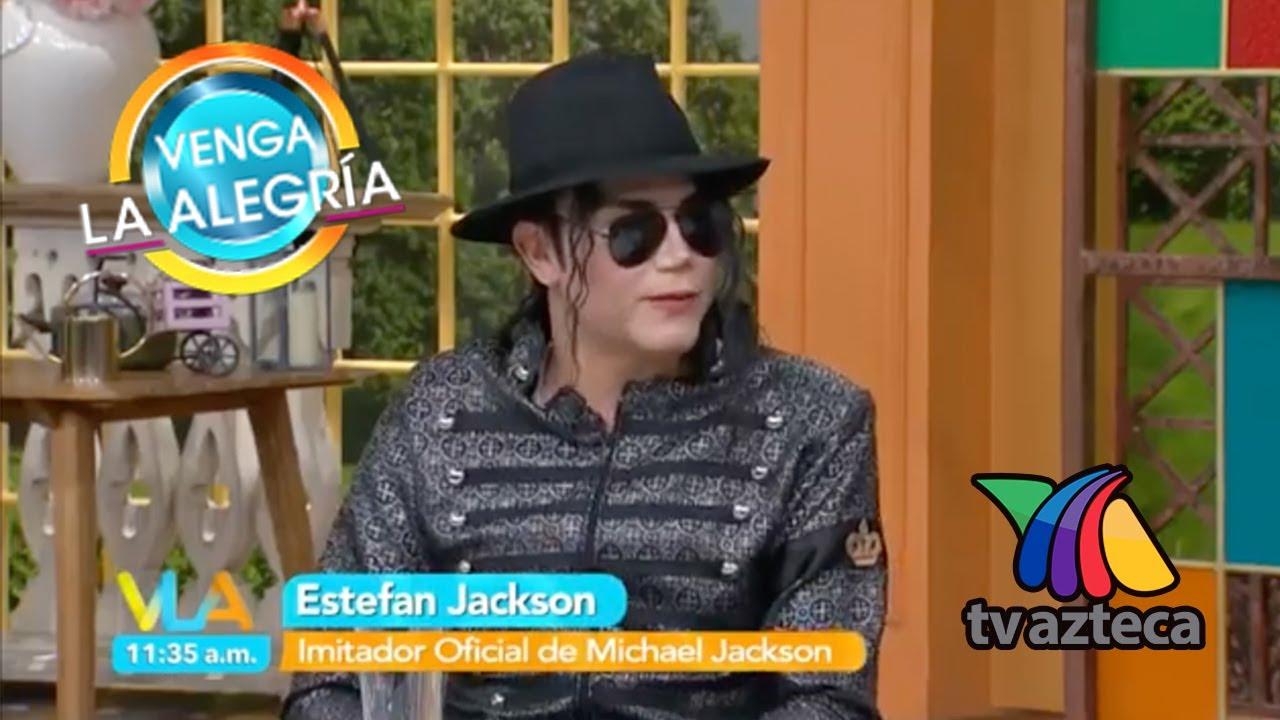 Estefan Jackson en  Venga la Alegría 2