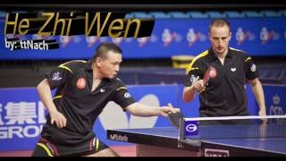 he zhi wen juanito evergreen player table tennis 2016