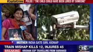 3-year-old girl kidnapped at India Gate