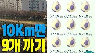 포켓몬고 물타입 이벤트에 10KM 알 9개 모아서 까면 뭐 나올까? 포켓몬GO [Pokemon GO] - 기리