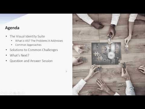 Webinar: Introducing the Visual Identity Suite