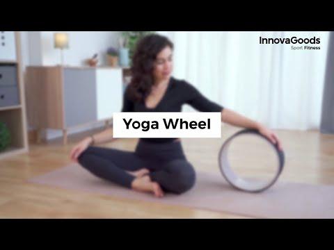 InnovaGoods Sport Fitness Yoga Wheel