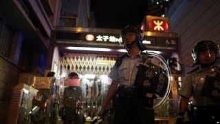 """VOA连线(叶兵):北京力挺港首""""止暴制乱"""" 拒绝反对派五项诉求"""