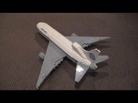 Lego Pan Am Lockheed L-1011-500 Tristar MOC