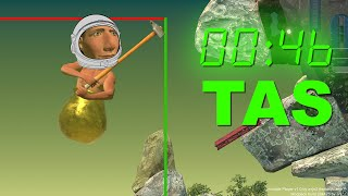 Getting Over It Space% TAS (Tool-assisted speedrun)