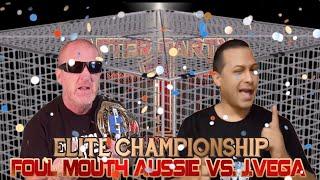 Elite Title Cage Match: Foul Mouth Aussie vs. J.Vega (Monday Night Mic)