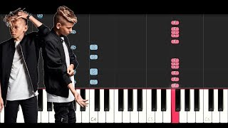 Marcus & Martinus - Guitar (Piano Tutorial)