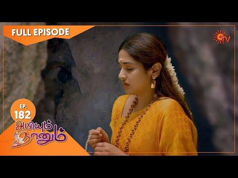 Abiyum Naanum - Ep 182   31 May 2021   Sun TV Serial   Tamil Serial