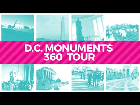 Washington, DC Monuments 360° Video Tour