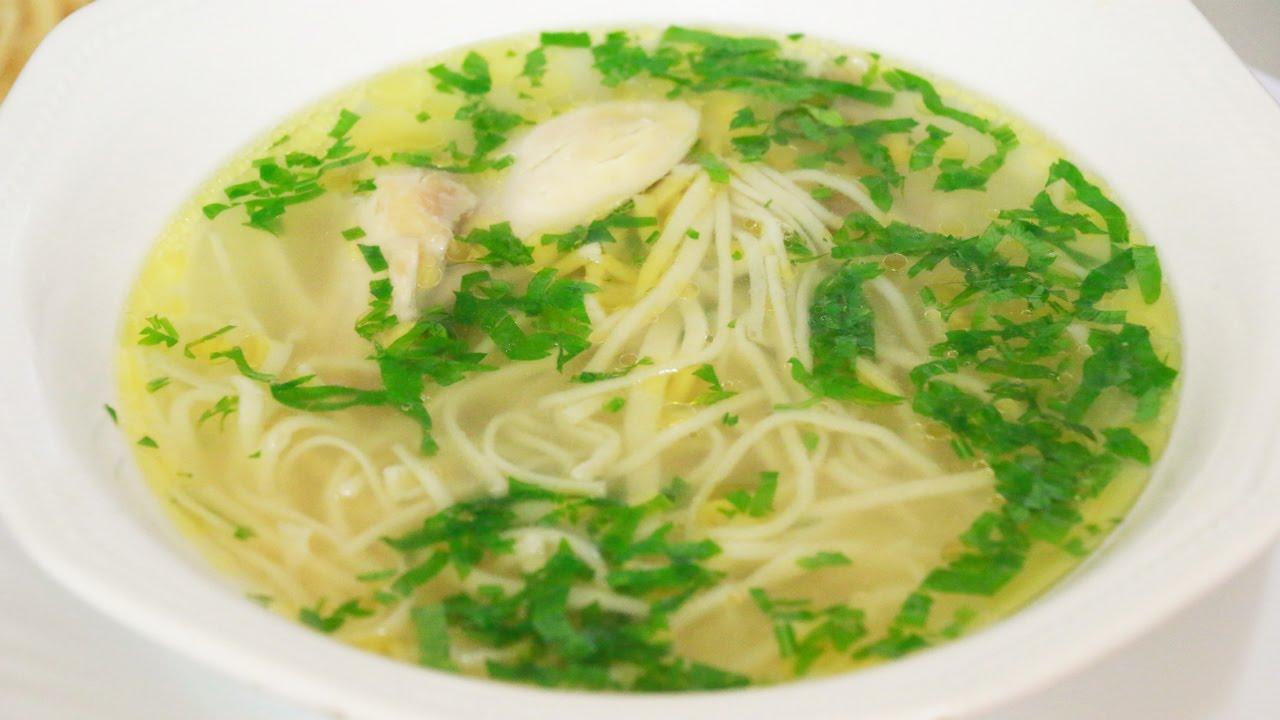 приготовить лапшу домашнюю для супа