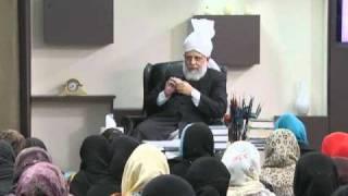 Gulshan-e-Waqfe Nau (Lajna) Class: 14th November 2010 - Part 5 (Urdu)