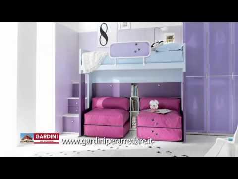 Camerette moderne da bambino proposte colorate e bellissime youtube - Accessori per camerette ragazze ...