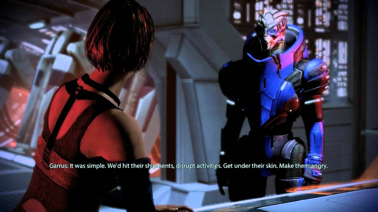 mass effect 2 how to make garrus loyal