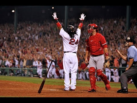 Manny Ramirez Postseason Home Runs