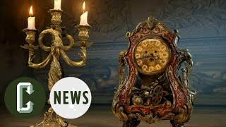 Beauty and the Beast Live-Action Images Reveal Lumiere & Cogsworth | Collider News