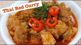 Thai Red Chicken Curry- Cà Ri Gà Thái Lan