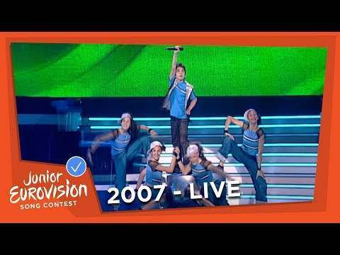 Yiorgos Ioannides - I Musiki Dini Ftera - Cyprus - 2007 Junior Eurovision Song Contest