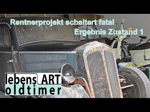 IFA DKW F8 - Restaurationstraum verloren, Autotraum gewonnen