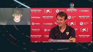 Rueda de prensa Sevilla FC vs SD Eibar