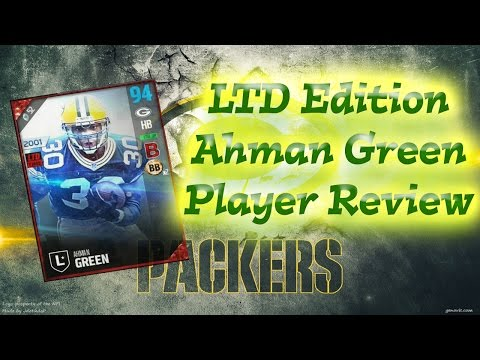 LTD Edition Ahman Green | Player Review | Madden 17 Ultimate Team