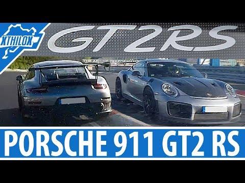 Fast Porsche 911 GT2 RS fly by - Nürburgring Nordschleife - Touristenfahrten BTG GT2RS