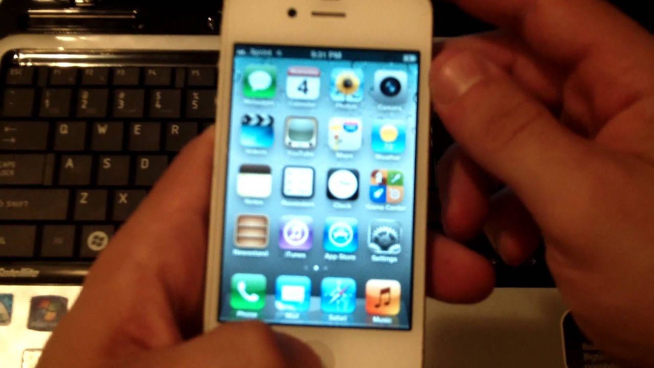 How to Hard Reset an Iphone 4s/4/5/5s That Has a Passcode ...