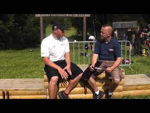 Avery Jenkins Interview at Estonian Open 2013