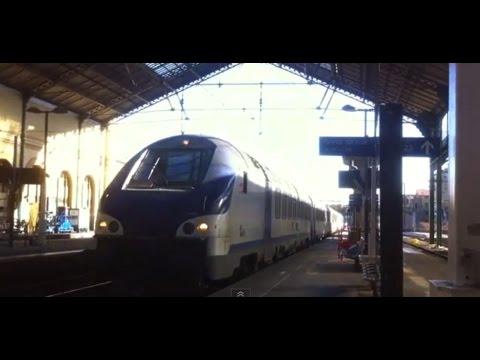 TRAIN STATION LYON PERRACHE RHONE-ALPES FRANCE