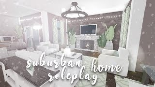 Roblox | Bloxburg: Suburban Role-play House | Speedbuild