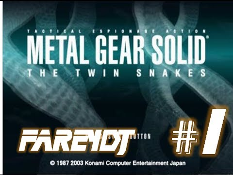 [FR HD] Metal Gear Solid the Twin Snakes - Arrivé à Shadow Moses - Ep. 1 Walkthrough / Let's play