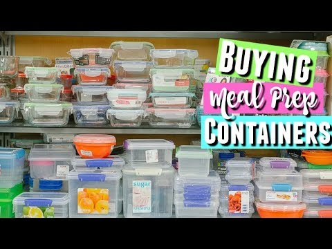 POWER WENT OUT SO LET'S GO SHOPPING! Buying Sistema meal prep containers