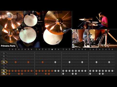 Every Breath You Take - The Police (aula de bateria)
