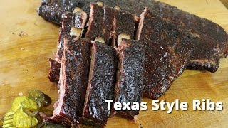 Texas Style Ribs | Recipe for Smoking Ribs from Malcom Reed